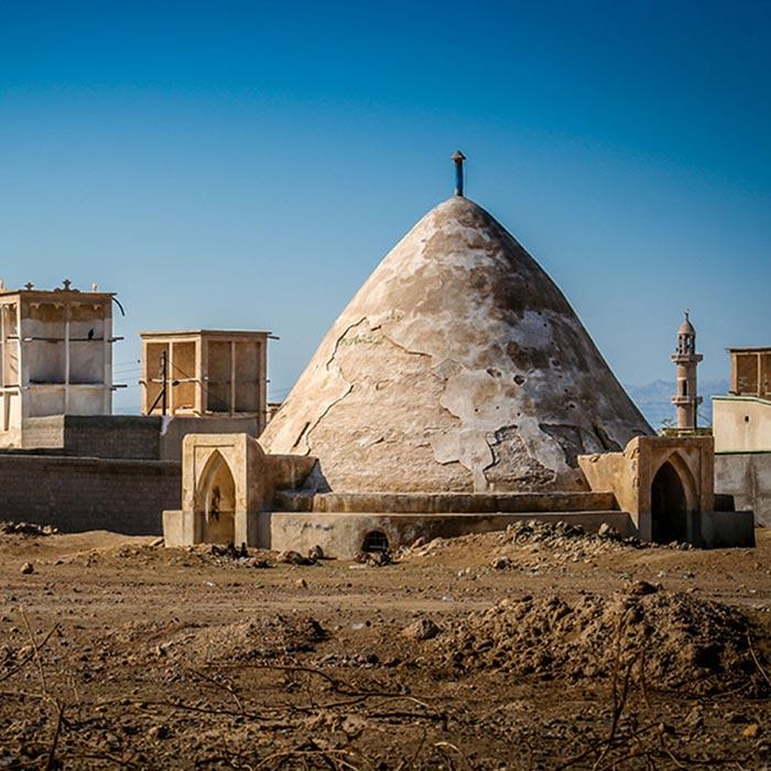 Traditioneller Wasserspeicher im Iran
